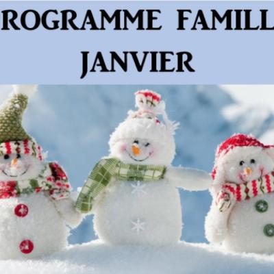 Programme famille Janvier