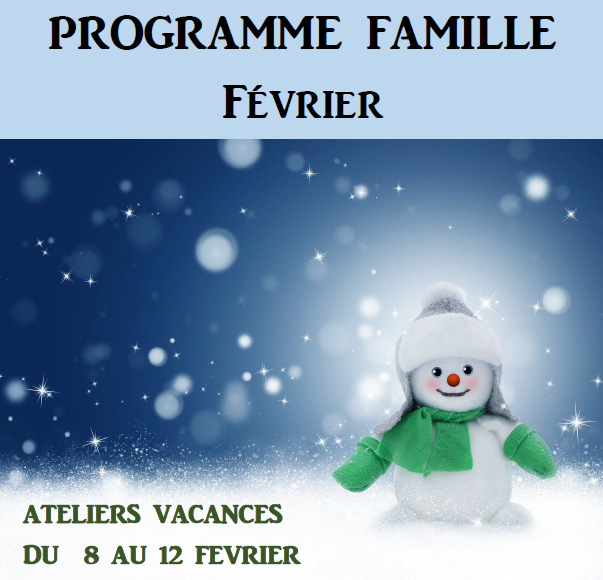 Programme Famille Février